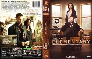 COFFRET DVD SERIE : ELEMENTARY - SAISON 1 INTEGRALE : DETECTIVE SHERLOCK HOLMES