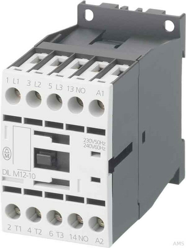 Eaton   Möller Leistungsschütz 1S 5,5KW 400V,AC DILM12-10(230V50HZ) | Geeignet für Farbe