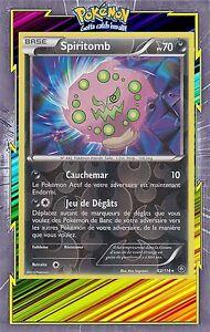 Carte Pokemon SPIRITOMB 62//114 RARE Reverse XY11 Offensive Vapeur FR NEUF