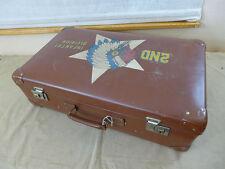 Nose Art Old School Vintage Tour Koffer JEEP US 2nd INFANTRY DIVISION INDIANHEAD