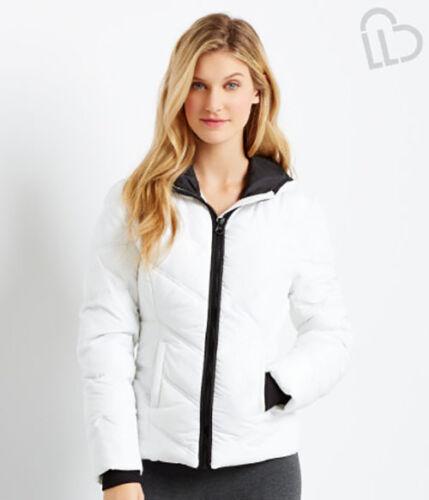 New Aeropostale Womens  LLD Solid Puffer Jacket 6791  NWT