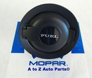 Fuel Gas Door Vapor Edition Matte Black Replace 68250120AA Replacement for 2008-2019 Dodge Challenger Fuel Door NEGIUP Fuel Filler Door