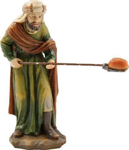 Johannes Krippenfigur Bäcker mit Brotschieber für Figurengröße ca.9cm