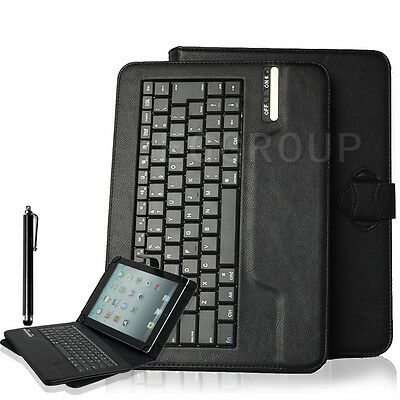 Wireless Bluetooth Keyboard Leather Case Cover For Asus 7 8 10 10.1″ inch Tablet