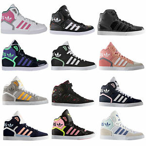 Image is loading Adidas -Originals-Extaball-Damen-High-Sneaker-Sneakers-Casual-