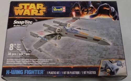Revell  Star Wars X-Wing Fighter Snap Tite model kit new in the box