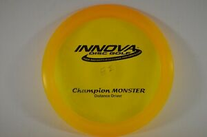 Monster-Champion-172g-Original-Mold-Pre-OOP-NEW-Innova-PRIME-Disc-Golf-Rare