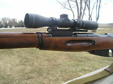LOW PROFILE MOSIN NAGANT SCOPE MOUNT FOR THE 91/30, PICATINNY STYLE RAIL. U