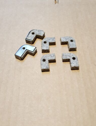 "Felt Saddle Wiper Way Atlas Craftsman Metal Lathe 10/"" /& 12/"" ● 1//4/"" Thick"