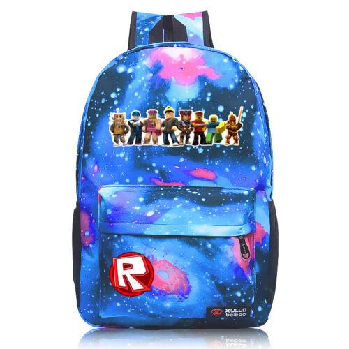USA Roblox Backpack Kids School Bag Girls  Boys Bookbag Handbags Travelbag Game