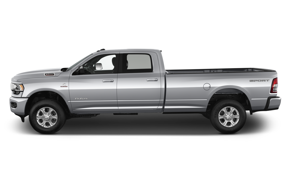 RAM 3500 side view
