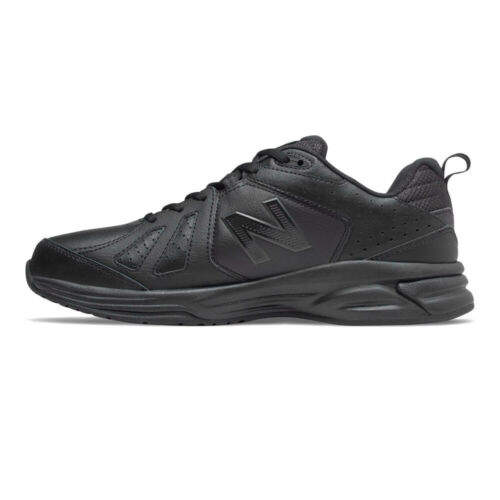 New Balance Mens 624v5 Training Gym Fitness Shoes Black Breathable