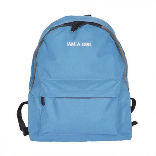 Womens Girls Canvas Backpack Travel Rucksack Boy School Work Laptop Shoulder Bag
