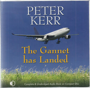 Peter-Kerr-The-Gannet-Has-Landed-9CD-Audio-Book-Unabridged-James-Bryce-FASTPOST