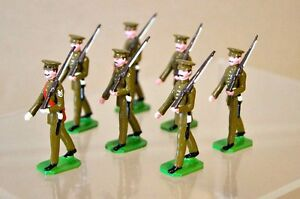 Soldats ducaux d'infanterie royale de ligne Marching X 7