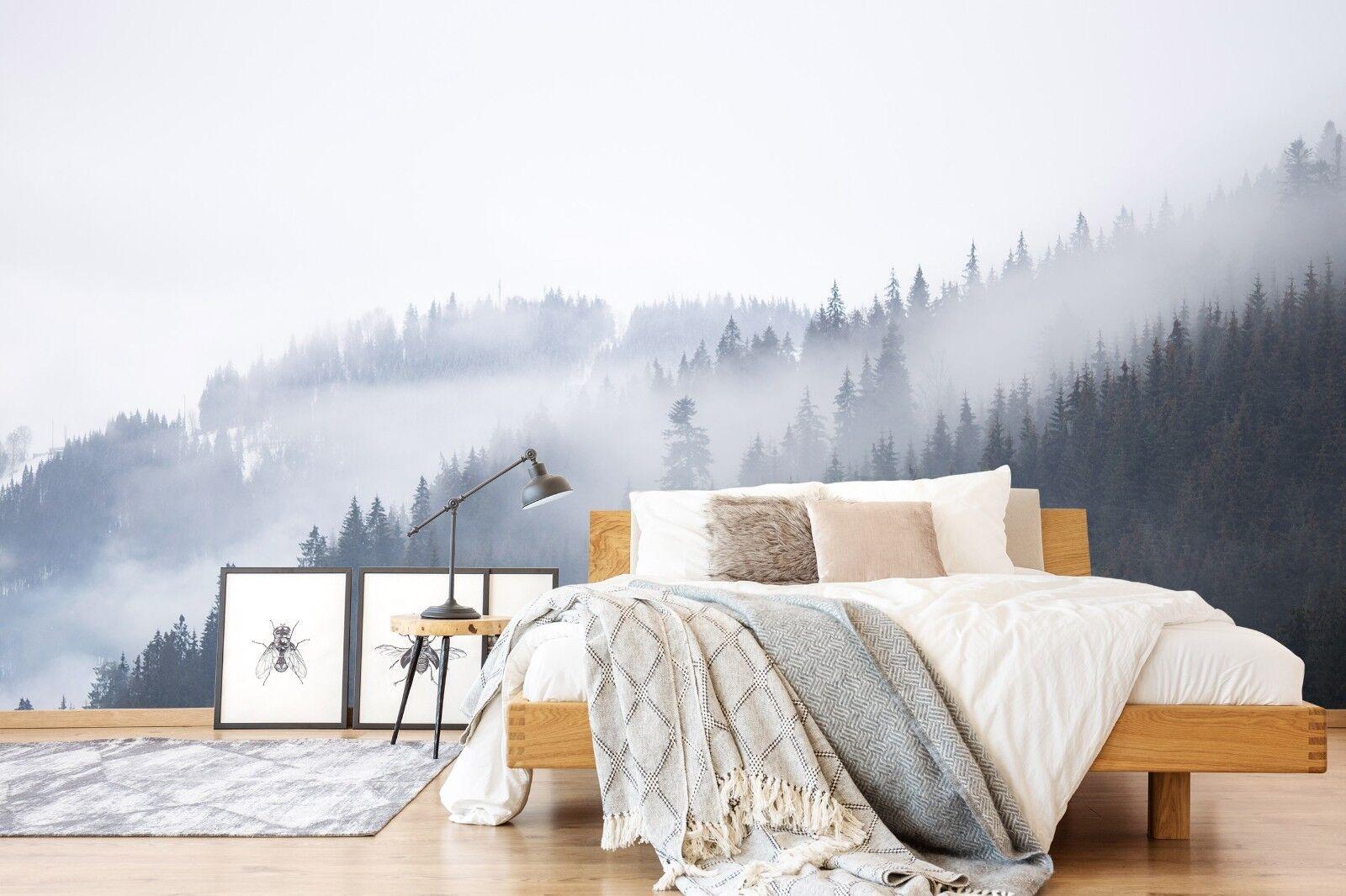 3D Grau Wald Bäume 7025 Tapete Tapete Tapete Wandgemälde Tapete Tapeten Bild Familie DE Sidney | Deutschland  | Zu einem erschwinglichen Preis  | Wirtschaft  cc4bf5