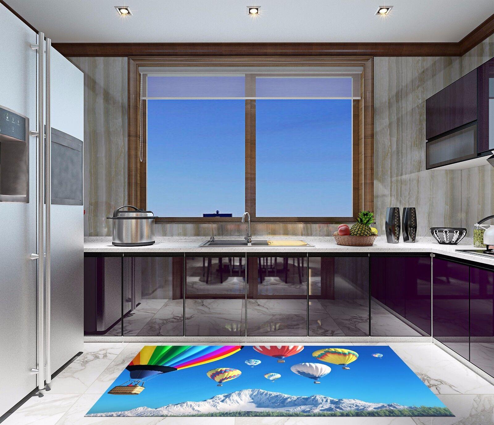 3D Farbe Ball 529 Kitchen Mat Floor Murals Wall Print Wall Deco AJ WALLPAPER UK