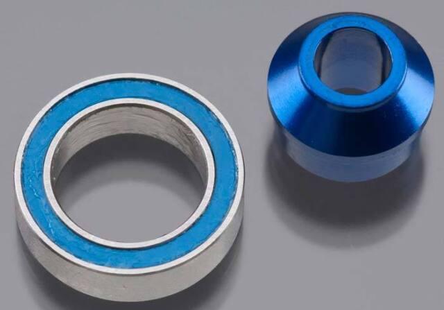NEW Traxxas Aluminum Bearing Adapter Blue Slash 4X4 6893X