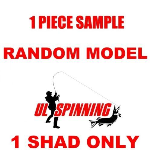 "Relax Pike Lures Kopyto 4/"" 10cm 3pcs MIX Shad Drop Shot Jig Heads Perch Soft"
