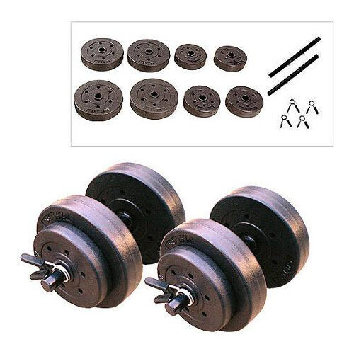 CAP Barbell Adjustable Cement Dumbbell Body Workout Gym Fitness Biceps Triceps