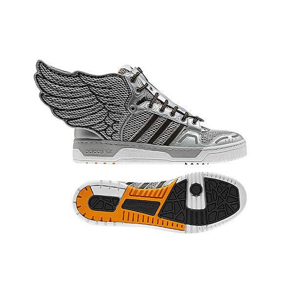newest collection d4b75 bf09b adidas Jeremy Scott Wings 2.0 NASA JS ObyO Mid SNEAKERS Shoe Teddy Mens Sz  9 for sale online   eBay