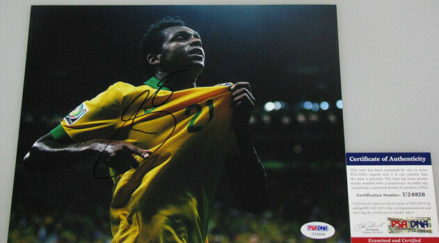 JO Brazil World Cup 2014 Hand Signed 8'x10' Photo 1 + PSA DNA COA U24926