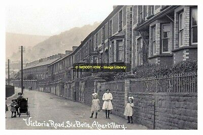 rp13943 - Victoria Road , Six Bells , Abertillery , Monmouthshire - photo 6x4