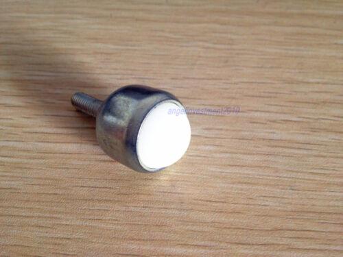 1pc Dia 1'' NYLON Ball Stud Transfer Bearing Unit Conveyor Roller M8 Threaded