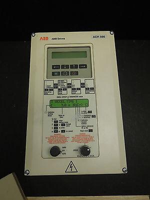 3 HP ABB ACH 500 ACH501-003-4-00P2 VARIBLE TORQUE DRIVE 500 VAC TESTED