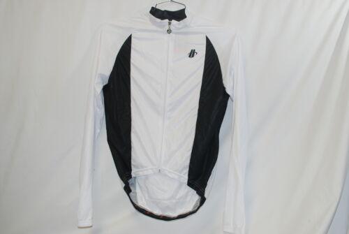 Homme Hincapie Cyclisme Performer Light Maillot à manches longues moyen à manches longues Blanc M NEUF