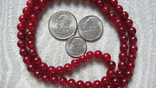 Carnelian 108 Beads Necklace - Nirvana 6mm Prayer Beads For 2nd Sacral Chakra