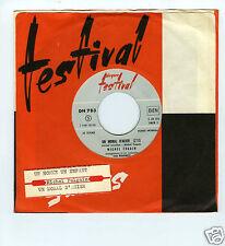 45 RPM SP JUKE BOX MICHEL FUGAIN UN MORAL D'ACIER (1967)