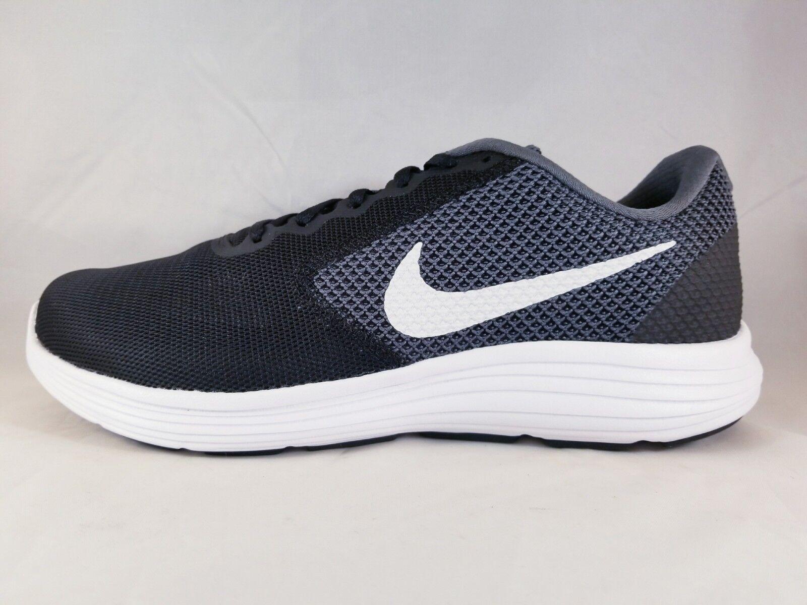Nike rivoluzione 3 (4e wide) uomini scarpe da corsa 819301 001 dimensioni