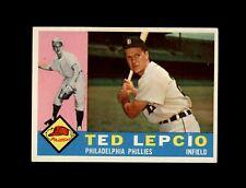 1960 Topps #97 Ted Lepcio Phillies Ex/mt