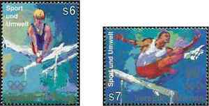Timbres-Sports-JO-Nations-Unies-Vienne-234-5-annee-1996-lot-4831