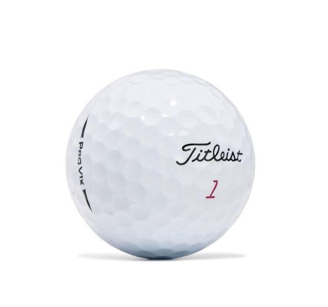 100 Titleist Pro V1X 2018 Mint Used Golf Balls AAAAA 5(A) Quality