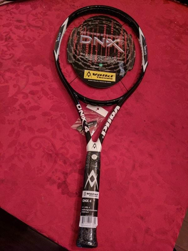 Nuevo Volkl Dnx 4 105 cabeza 9.7oz 4 1 2 Grip Tenis Raqueta