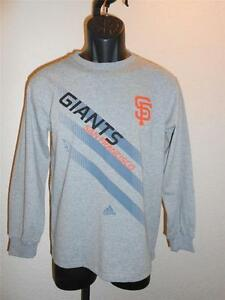 378af73c5 NEW-MENDED San Francisco Giants YOUTH Size Medium M 10-12 Grey Shirt ...