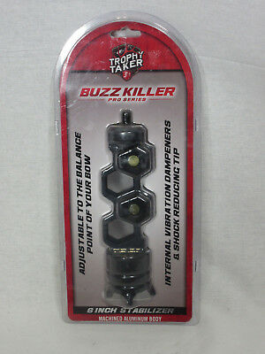 "Trophy Taker BuzzKiller 6/"" Molded Stabilizer Kryptek Highlander"