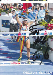 Faris Al-Sultan - Deutschland, Gold WM 2005 Triathlon, Original-Autogramm!