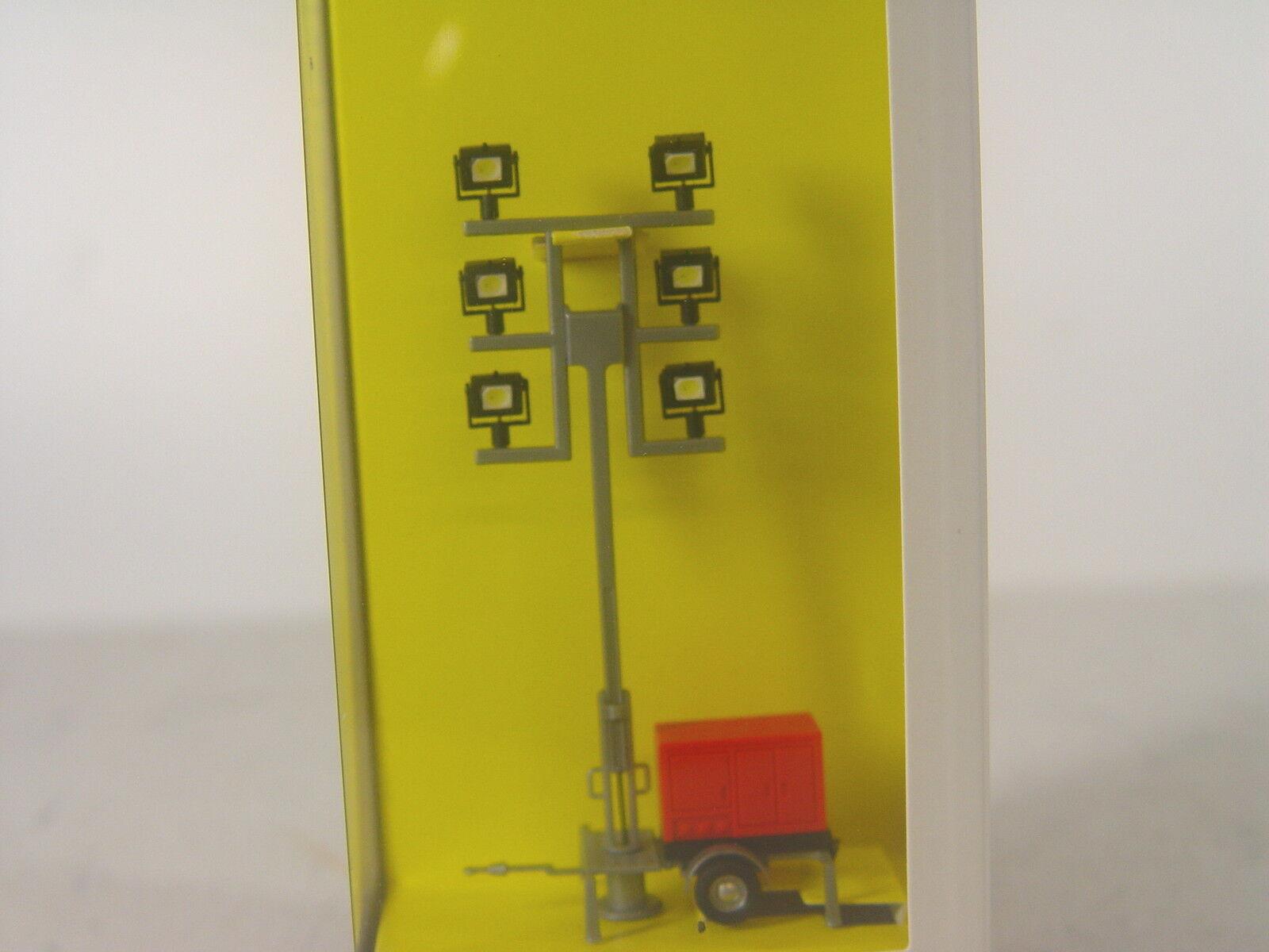 Leuchtgiraffe pompiers-ausleuchtungsmast M. 6 LEDs-viessmann HO 5144   E