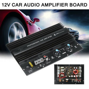 12V-1000W-Mono-Subwoofer-Car-Audio-High-Power-Amplifier-Amp-Board-Powerful-Bass