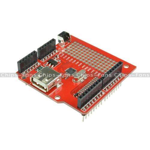 USB Host Shield V2.0 Supporting Google Android ADK /& UNO MEGA Duemilanove 2560 C