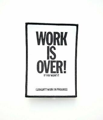 Carhartt Wip Lavoro è Più Di Patch, Nero/bianco-mostra Il Titolo Originale