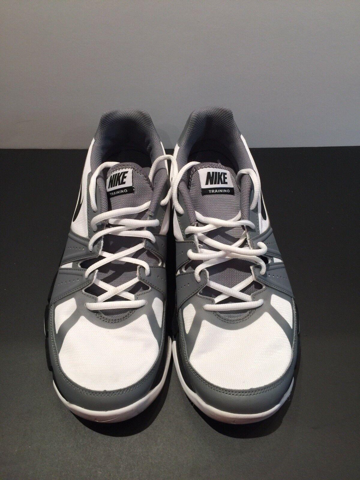 Nike Flex 684701-100 Grey/White Uomo Size 11