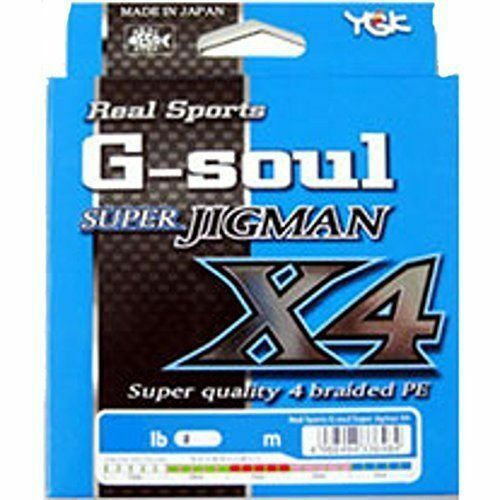 YGK Yotsuami GSOUL SUPER JIGMAN X4 Slow Style 600m  2 30lb  Fishing LINE