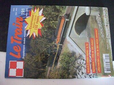 """** Revue Le Train N°191 A1a A1a 68000/68500 / Premières """" Compound """" Du Plm"""