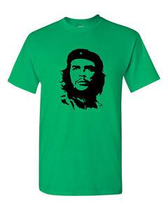 Che Guevara T-Shirt Silhouette Iconic Retro Political Revolution Cuba S-5XL Top