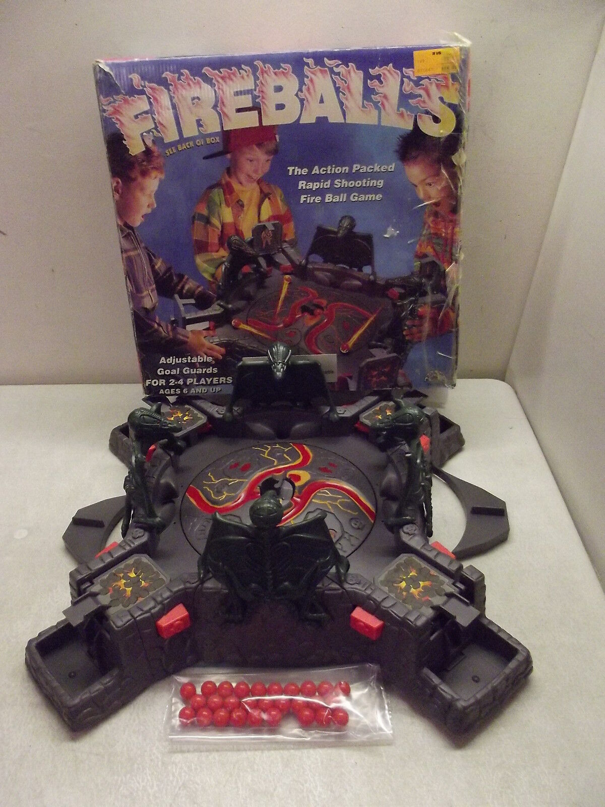 FIREBALLS BATTERY OPERATED SHOOTING GAME