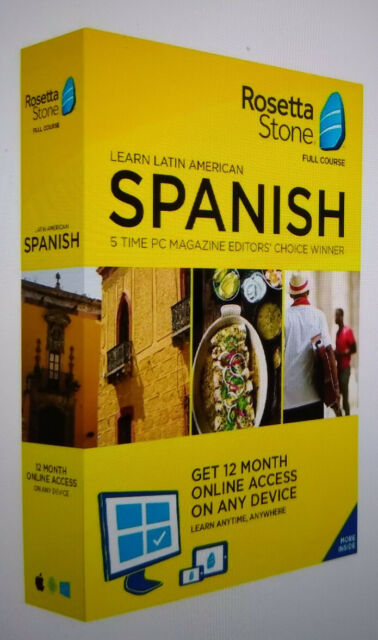 Rosetta Stone Learn 1 Of 24 Languages Full Course Download Very Good For Sale Online Ebay